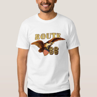 Route 66 American Eagle T Shirts