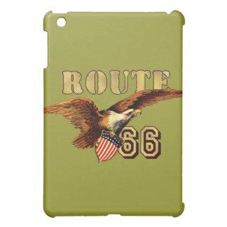 Route 66 American flag USA Bald Eagle Case For The iPad Mini