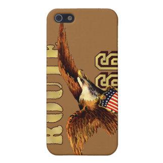 Route 66 American flag USA Bald Eagle iPhone 5 Cover