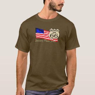 Route 66 - America's Main Street T-Shirt