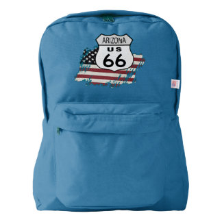 Route 66 Arizona Sign American Apparel™ Backpack