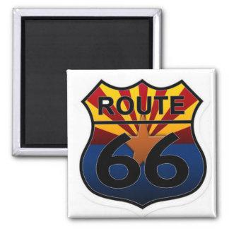 Route 66 Arizona state flag Magnet
