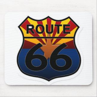 Route 66 Arizona state flag Mouse Pad
