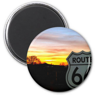 Route 66 at Sunset Magnet