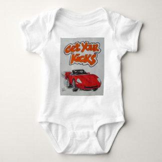 Route 66 baby bodysuit