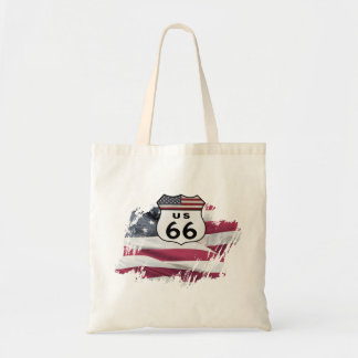 Route 66 canvas bags