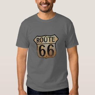 Route 66 - Basic Dark T-Shirt