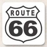 Route 66 beverage coaster