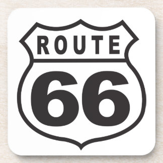 Route 66 beverage coaster