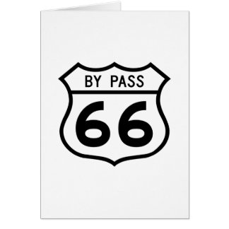 Route 66 - By Pass Card