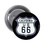 Route 66 California Pin