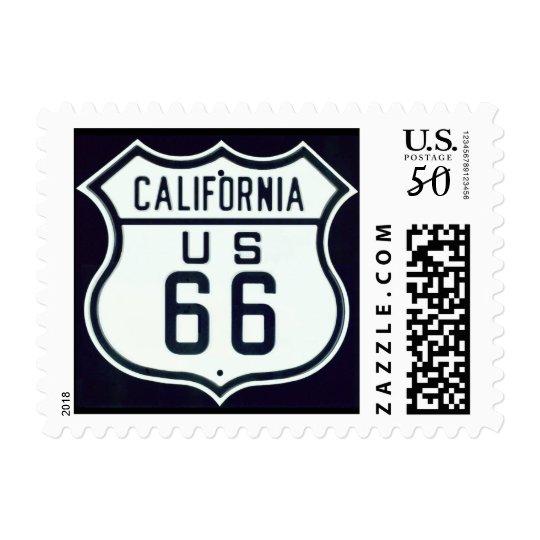 Route 66 California Postage