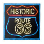 Route 66 ceramic tiles