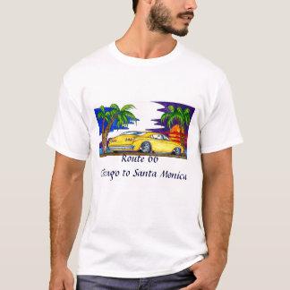 Route 66 Chicago to Santa Monica T-Shirt