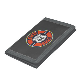 ROUTE 66 CHICAGO - Tri-Fold Wallet