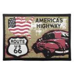 Route 66 cloth place mat