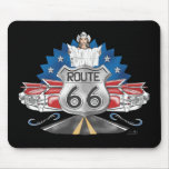 Route 66 Cowgirl Mousepad