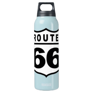 Route 66 Custom (Choose Size, Color) Insulated Water Bottle