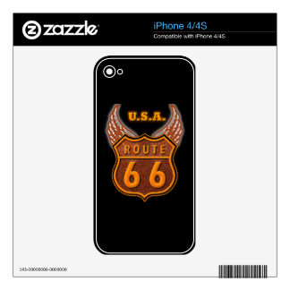 Route 66 decal for the iPhone 4