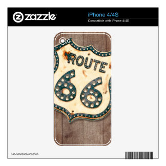 Route 66 decal for the iPhone 4S