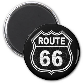 Route 66 Distressed Magnet