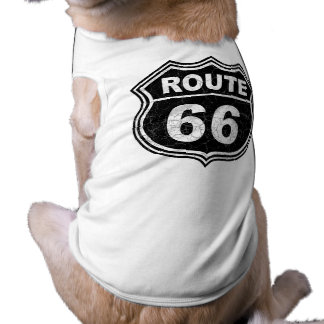 Route 66 Distressed Tee