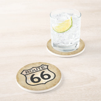 Route 66 drink coaster