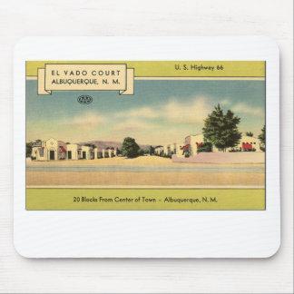 Route 66 El Vado Court Mouse Pad