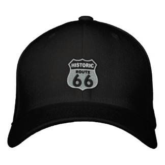 Route 66 embroidered baseball cap