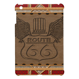 Route 66 fashion style iPad mini cover