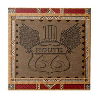 Route 66 fashion style tile