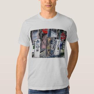 route 66 gas station vintage art shirt