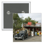 Route 66 General Store & Gas Station 2 Inch Square Button