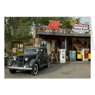 Route 66 General Store & Gas Station Card