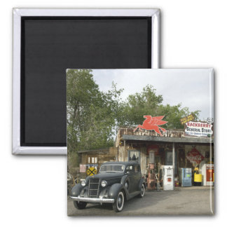 Route 66 General Store & Gas Station Magnet