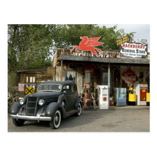 Route 66 General Store & Gas Station Post Card