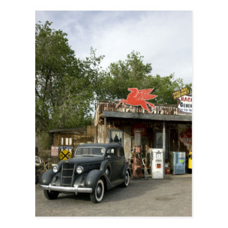 Route 66 General Store & Gas Station Postcard