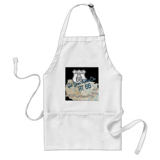 route 66 gifts adult apron