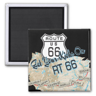 route 66 gifts magnet