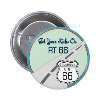 Route 66 gifts pinback button