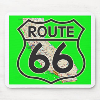 route 66 Green California1 Mouse Pad