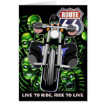 ROUTE-66 GREETING CARD