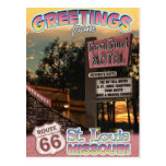 Route 66 Greetings St Louis Missouri Postcard