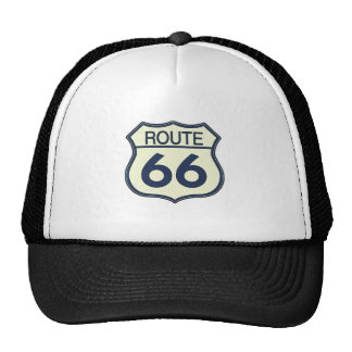 Route 66 trucker hats