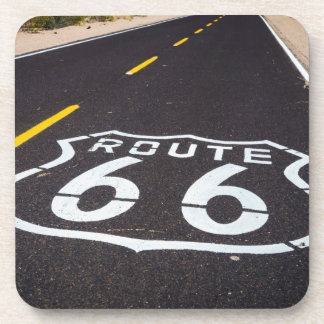 Route 66 highway marker, Arizona Beverage Coaster