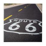 "Route 66 highway marker, Arizona Tile<br><div class=""desc"">Highway marker on historic Route 66,  Seligman,  Arizona,  Usa   Russ Bishop / DanitaDelimont.com</div>"