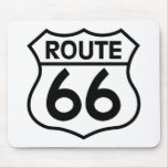Route 66 Highway Sign Apparel & Gifts Mousepads