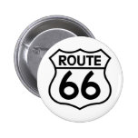 Route 66 Highway Sign Apparel & Gifts Pins
