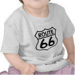 Route 66 Highway Sign Apparel & Gifts Tshirt