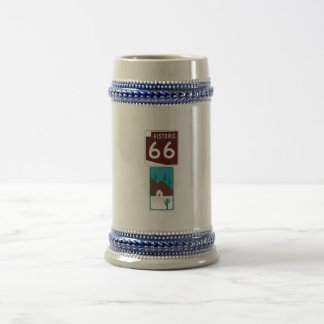 Route 66 - Historic 66 & Scenic Road Beer Stein